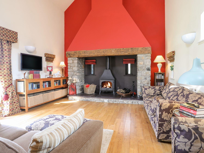 The Barn Treferwydd in Llangaffo - sleeps 6 people