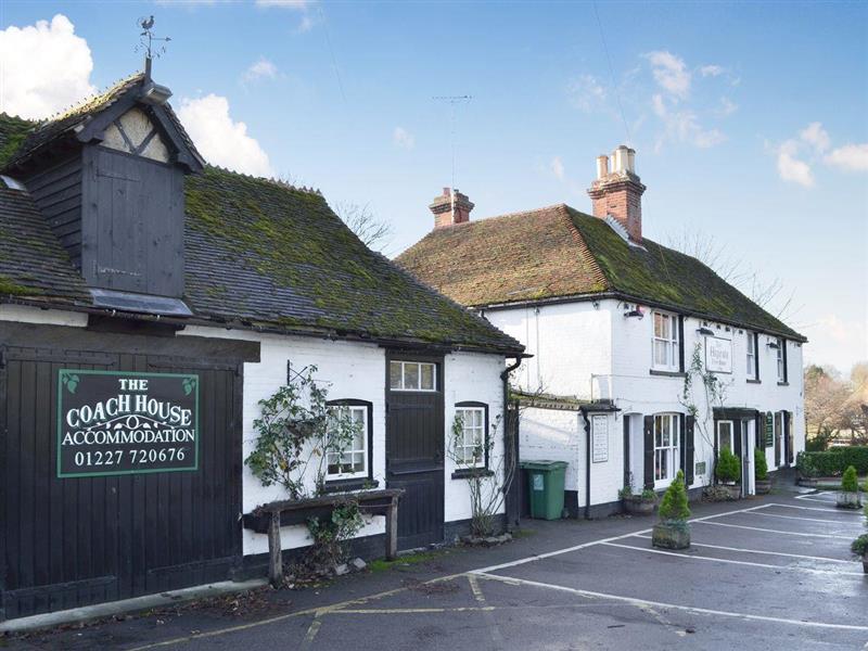 The Coach House in Bramling, near Canterbury - sleeps 2 people