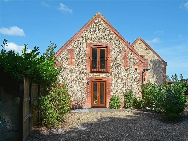 The Coach House in Holt - sleeps 2 people