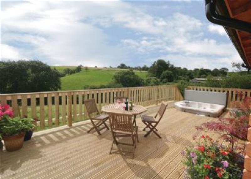The Larches in Montgomery - sleeps 4 people