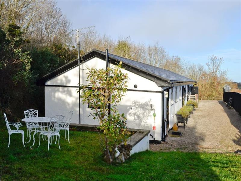 The Lodge in Dyserth, near Prestatyn - sleeps 2 people