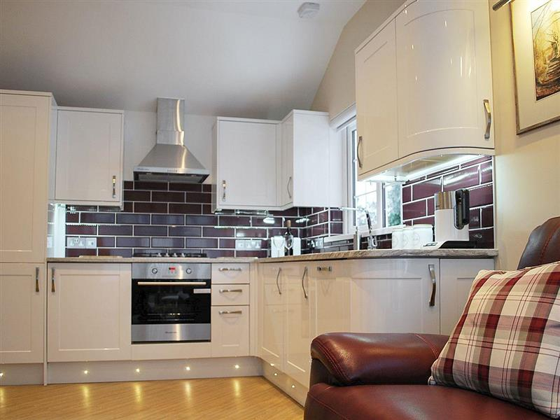 The Lodge in Polgooth, near Mevagissey - sleeps 2 people