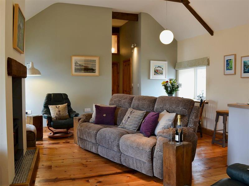 The Milking Parlour in Saron, near Llandysul, Carmarthenshire - sleeps 5 people
