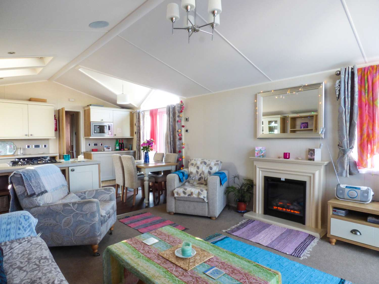 The  Vogue Lodge in Swanage - sleeps 4 people