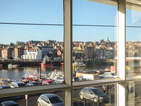 What a View at Quayside Apartment in Whitby - sleeps 2 people