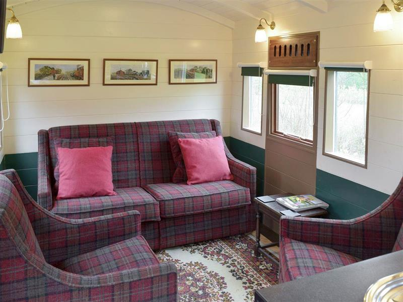 Wilby Halt in Brockford, near Stowmarket - sleeps 5 people