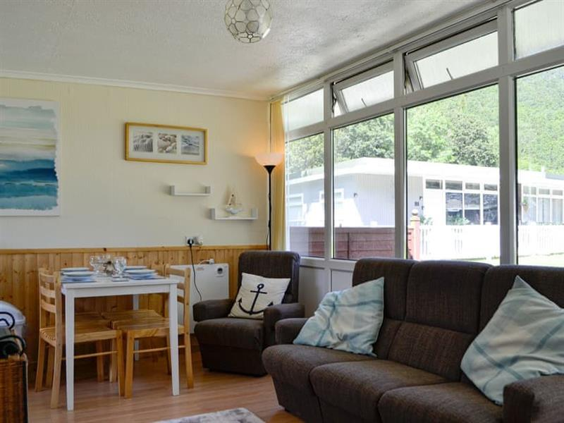 Woodlands Park Retreats - Chalet 123 in Gilfachrheda, near New Quay, Cardigan - sleeps 4 people