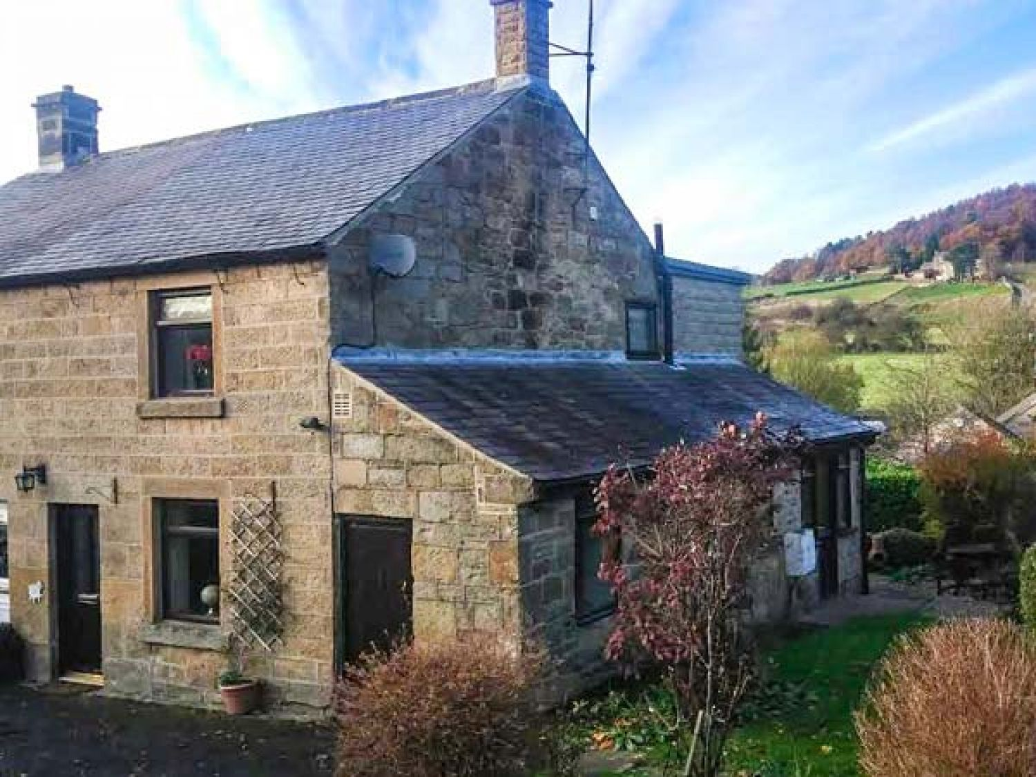 Woods View Cottage in Tansley near Matlock - sleeps 5 people
